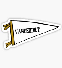 Vanderbilt Flag 2 Sticker