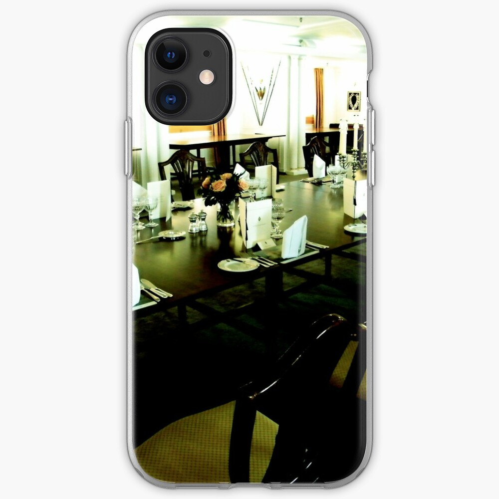 State Dining Room, Royal Yacht Britannia iPhone Soft Case