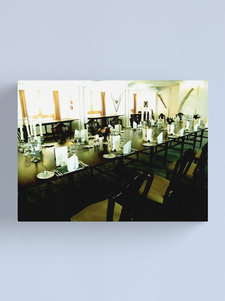 Alternate view of State Dining Room, Royal Yacht Britannia Canvas Print