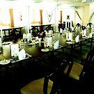 State Dining Room, Royal Yacht Britannia by Robert Steadman