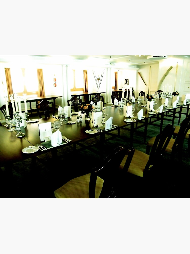 State Dining Room, Royal Yacht Britannia by robsteadman