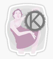 K1 Sticker