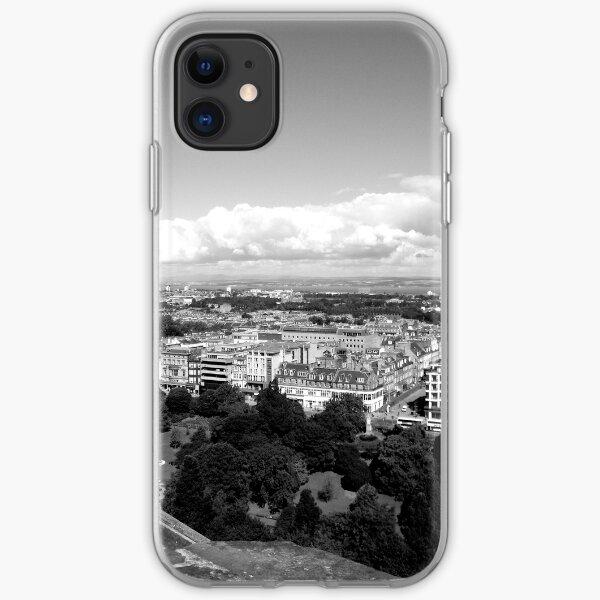 Edinburgh - towards the Forth Bridges iPhone Soft Case