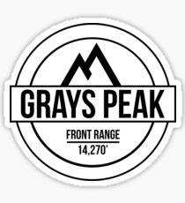 Grays Peak Sticker