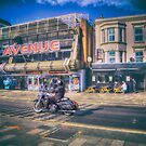 Harley at Southend by Nigel Bangert
