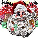 Santa's secret stash! by Realartworkz