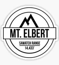 Mount Elbert Sticker