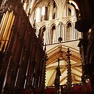 Inside Lincoln Cathedral by Robert Steadman