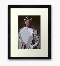 Tribute to George Michael Framed Print