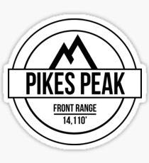 Pikes Peak Sticker