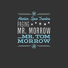 Paging Mr. Morrow by LivelyLexie