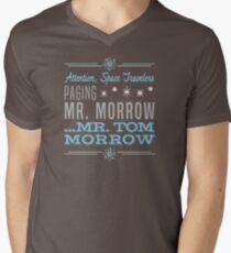 Paging Mr. Morrow Men's V-Neck T-Shirt