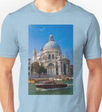 Italy. Venice. Basilica of Santa Maria della Salute. Unisex T-Shirt