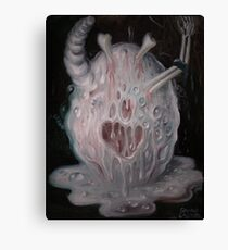 The egg of the evil Canvas Print