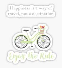 Enjoy the Ride Sticker