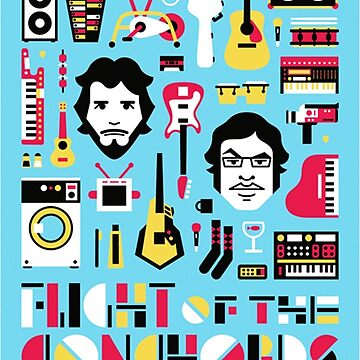 Flight of the Conchords by giseladiana