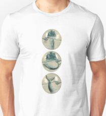 The Battle - Captain Ahab and Moby Dick T-Shirt