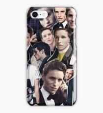eddie redmayne collage iPhone Case/Skin