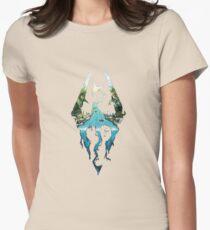 Elder Scrolls Skyrim Womens Fitted T-Shirt