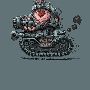 Tank Man by Lefrog