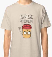 Espresso Patronum Funny Coffee Lover T-Shirt Classic T-Shirt