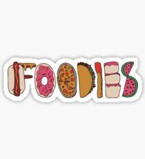 Foodies Sticker