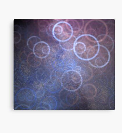 Circle Stencils Metal Print