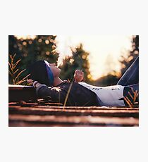 'Just Daydreaming' : Chloe from Life is Strange rendered by Bertsz Photographic Print