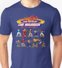 Art of Fighting 3: The Path of The Warrior (Neo Geo Character Lineup) Unisex T-Shirt