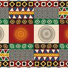 Seamless mayan, aztec pattern by Richard Laschon