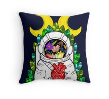 Nature of space Throw Pillow