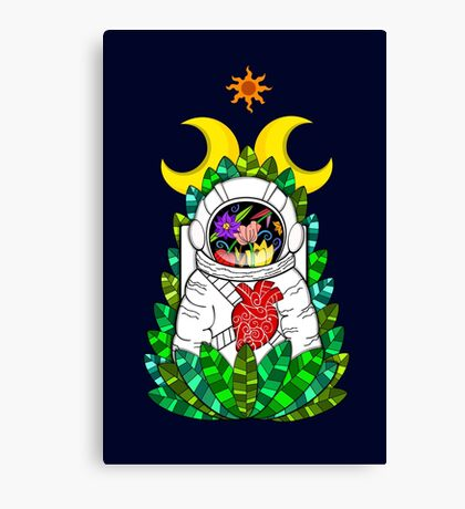 Nature of space Canvas Print
