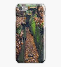 Cleft in the Rock iPhone Case/Skin