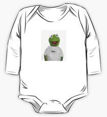 "Supreme Kermit ""Hype"" Box Logo One Piece - Long Sleeve"