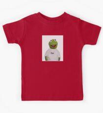 """Supreme Kermit """"Hype"""" Box Logo Kids Tee"""