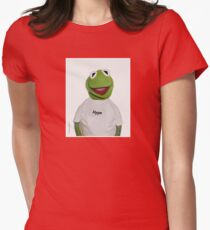 "Supreme Kermit ""Hype"" Box Logo Womens Fitted T-Shirt"