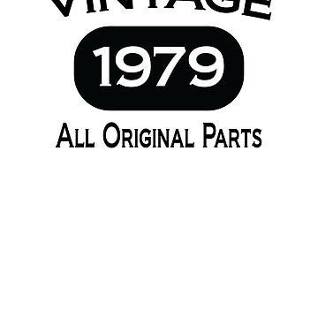 Vintage 1979 - All Original Parts by coolstuffofaz