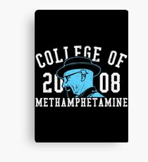 College of Methamphetamine Canvas Print