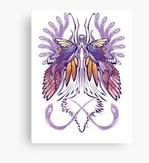Mab the Queen of Fey (purple) Canvas Print