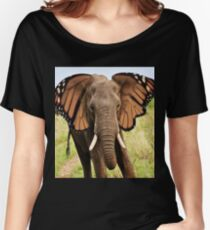 Elephly Women's Relaxed Fit T-Shirt