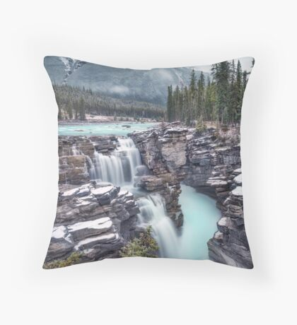 Emerald Rush Throw Pillow