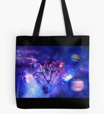 Space Kitty Tote Bag