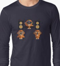 Hear No Evil, See No Evil, Play No Evil Long Sleeve T-Shirt