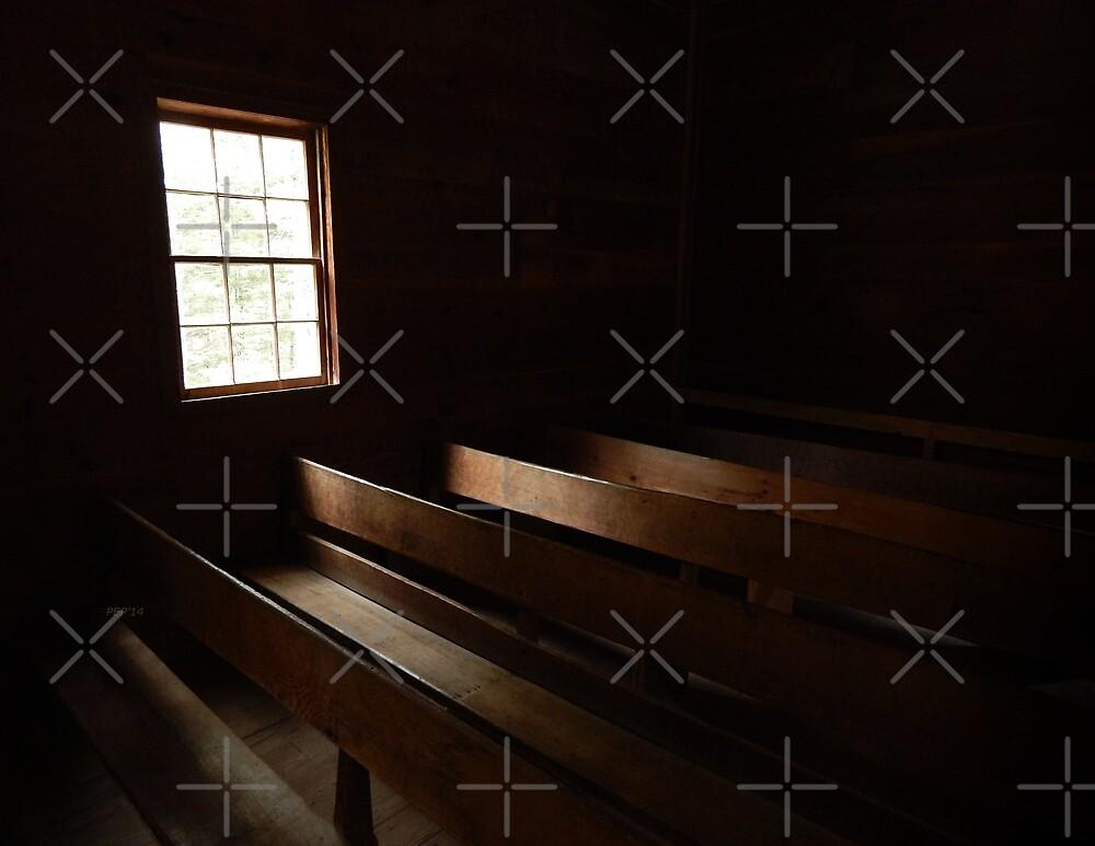Church Pews by Phil Perkins