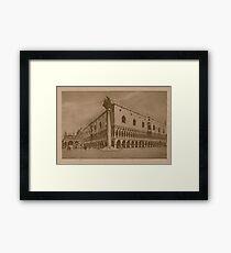 Doges' Palace,Venice,Italy Framed Print