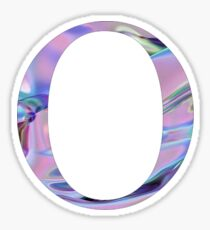 Omicron- Holographic/ Chrome- Greek letter Sticker