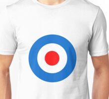 Mod Target Sticker, Target T-shirt, mod sticker, scooter sticker, scooterboy, vespa, lambretta, Punk Unisex T-Shirt