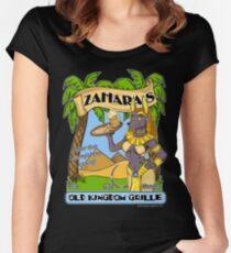Zahara's Old Kingdom Grille Restaurant Parody  Women's Fitted Scoop T-Shirt