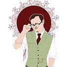 Mycroft Holmes - Office Glasses by Clarice82