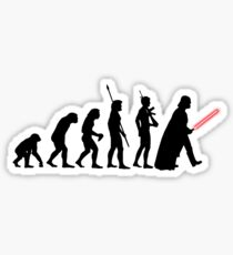 Darth Vader Evolution Sticker